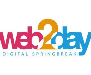 Le bureau de Ganesh au Web2Day : IA et médias, SEO et SEA, data et privacy