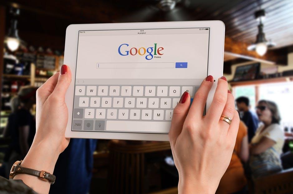 Le bureau de Ganesh - fenêtre de recherche Google