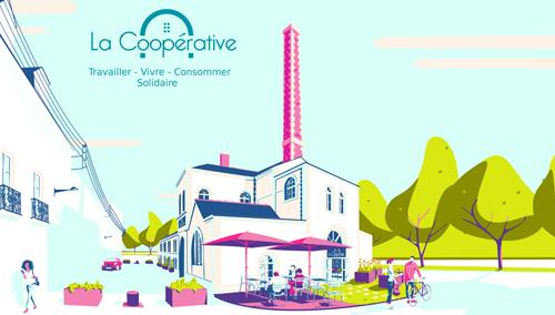 La Coopérative : visuel de la candidature de L'Ouvre-Boîtes 44