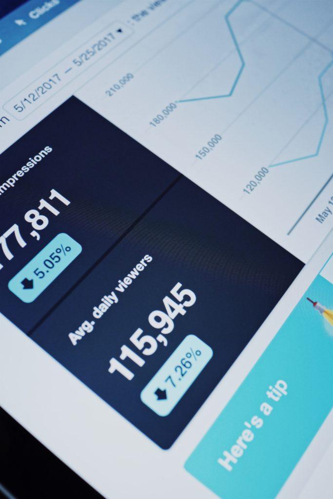 Le BdG - suivi des KPI d'une pub en ligne