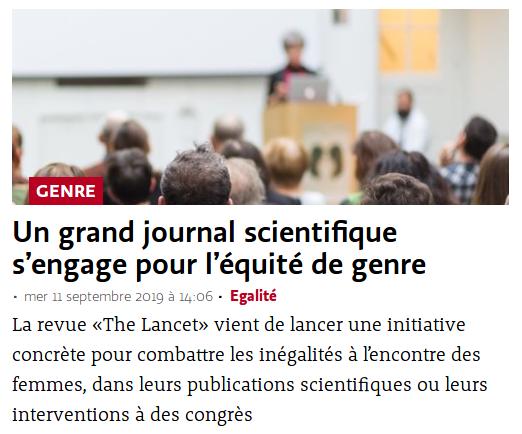 Parmi les actions mises en place pour nourrir sa stratégie de contenus, Le Temps publie parfois des articles a priori peu lus mais reconnus par un public de niche.