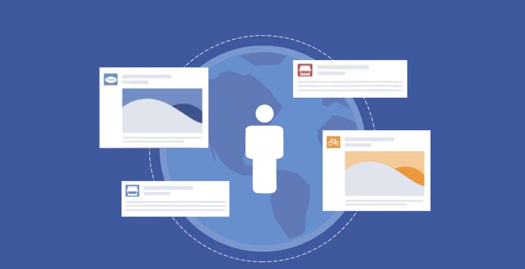 Les publicités Facebook sont classées selon des enchères. Plus un annonceur paye cher, plus sa publicité aura de chances d'être distribuée.